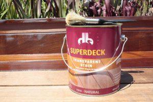 Superdeck Cedar Stain